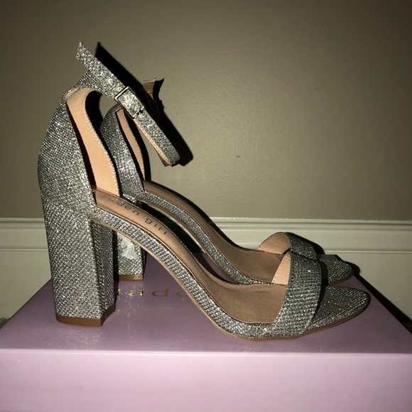 e3264b2380b Madden Girl Shoes - Madden Girl Bella Silver Heels